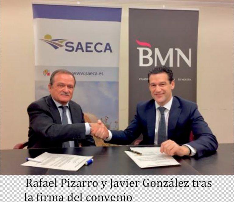 SAECA y BMN renuevan su colaboración en apoyo del sector primario