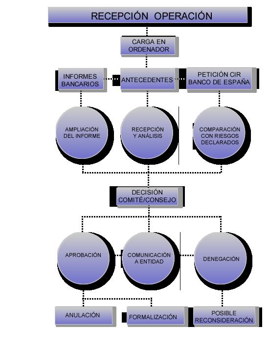 Estudio de la operación y la decisión del aval SAECA