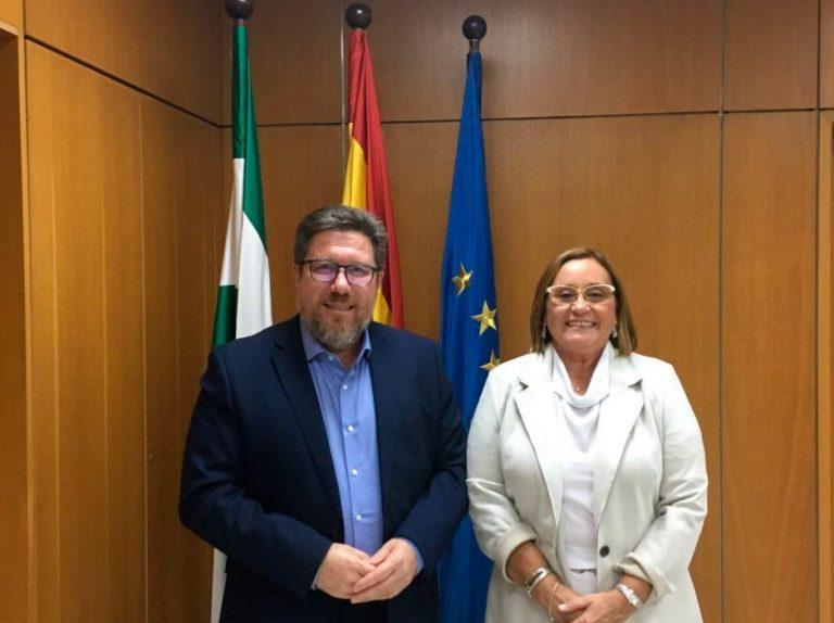 Saeca visita la consejería de agricultura, pesca y desarrollo rural de Andalucía