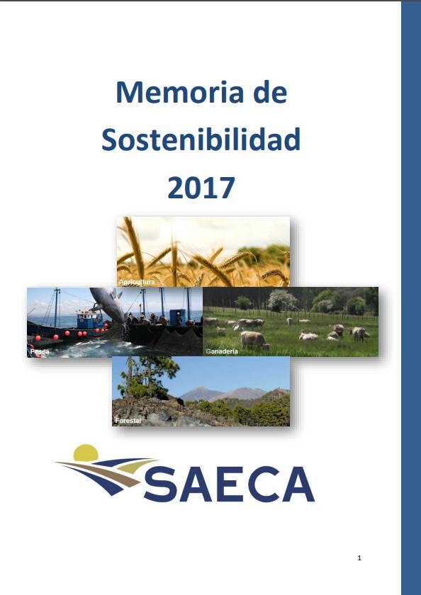 Memoria Sostenibilidad 2017 SAECA